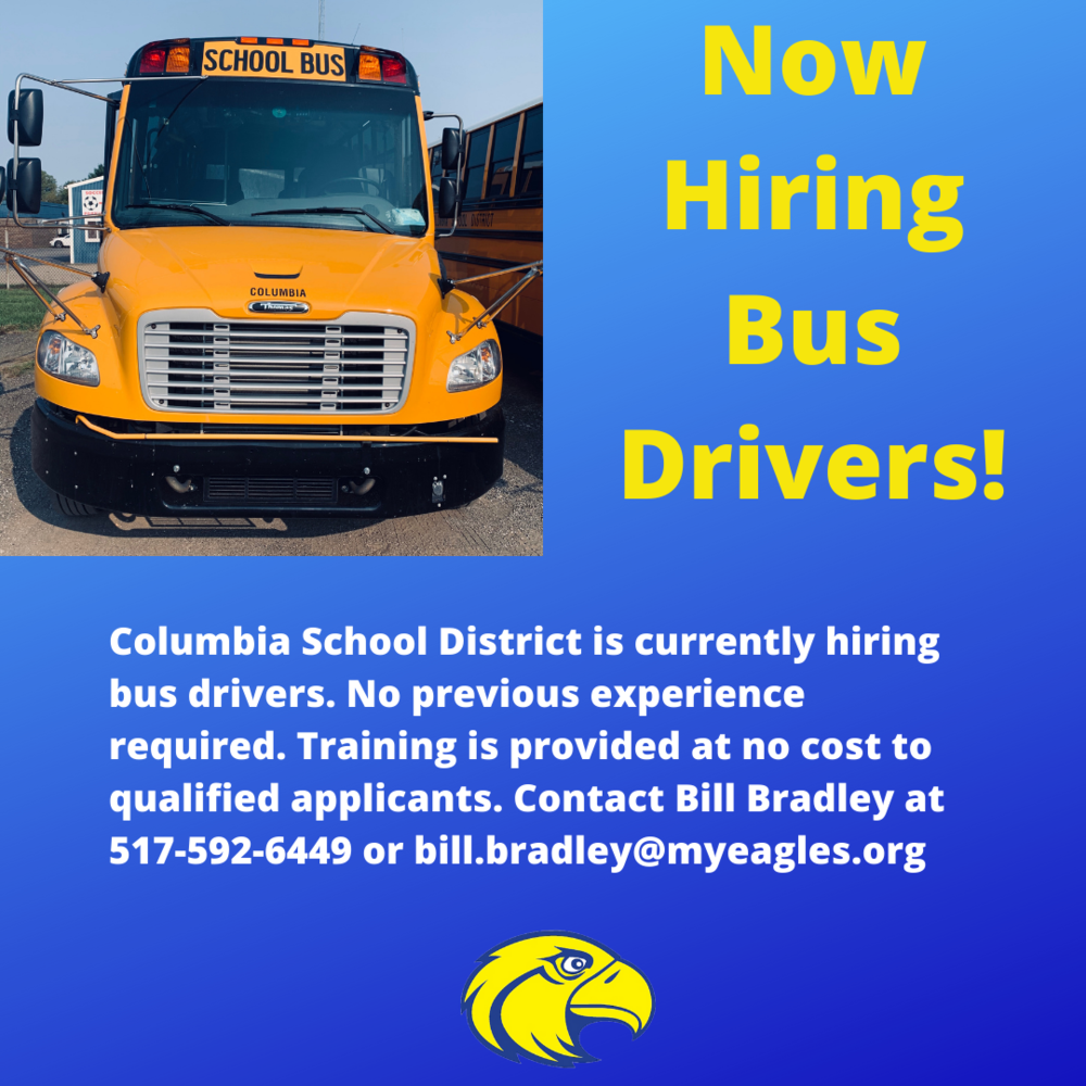 Hiring Bus Drivers!
