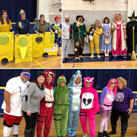 Staff Costume Contest