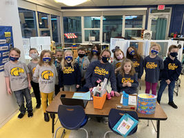 Mrs. Aguilera's  Blue & Gold Day