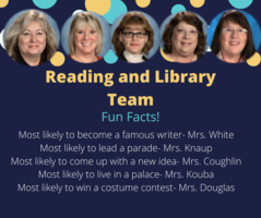 Shout Out to Our Reading and Library Team