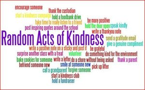 Random Acts of Kindness Day - February 17, 2021