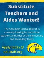 Substitute's Wanted!