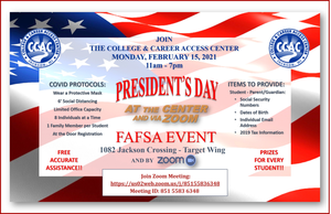 College and Career Access Center