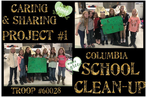 Girl Scout Clean Up