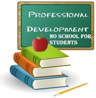 Monday is Professional Development Day for teachers. See you on Tuesday!