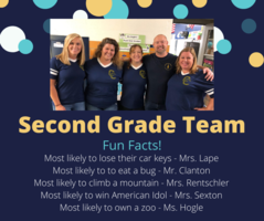 Shout Out to Our 2nd Grade Team