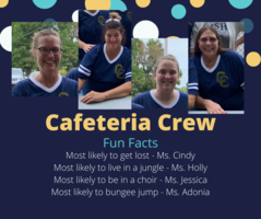 Shout Out to our CES Cafeteria Crew