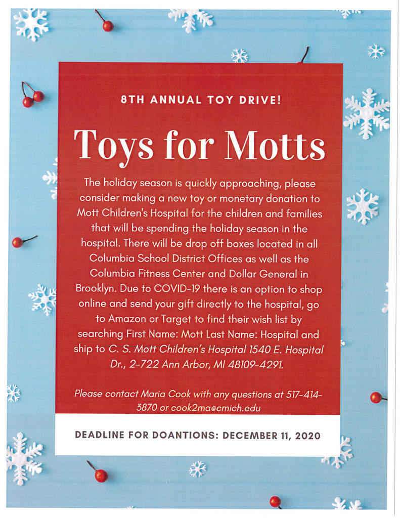 Toys for Motts Drive