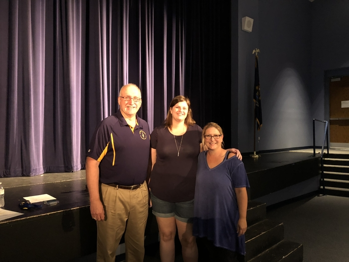 Mr. Wahr congratulated Ms. Kimble and Mrs. Agnello for receiving the You Make A Difference Award!