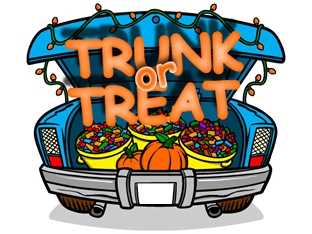 Trunk or Treat on Sunday, October 28th from 3 pm to 5 pm at the Columbia Central High School south parking lot!