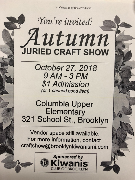 Craft Show today!