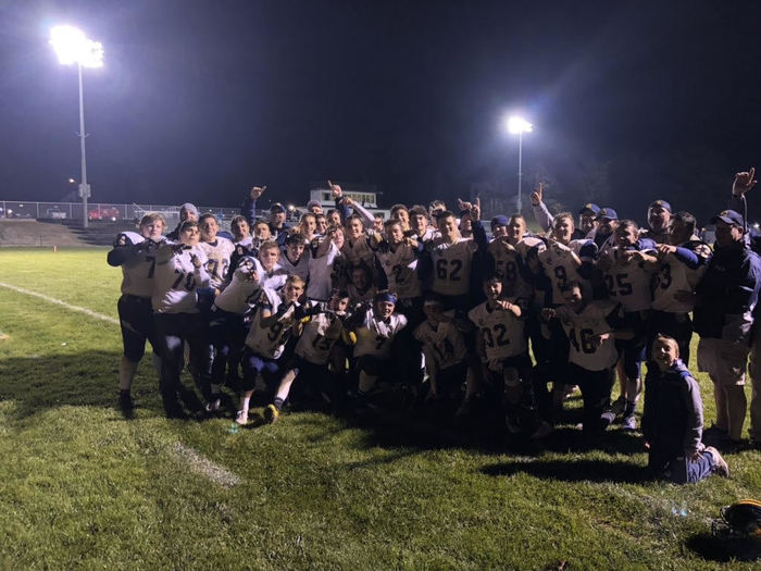 CCHS Varsity Football LCAA Champs!