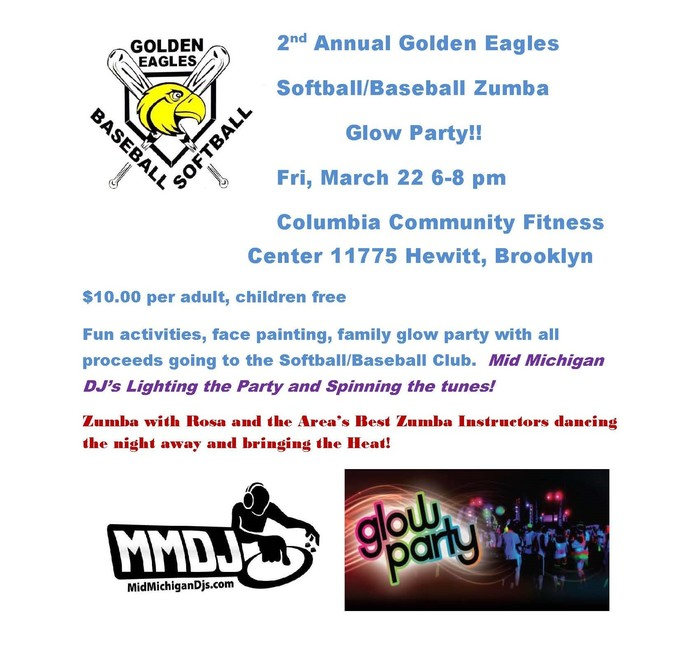 Zumba Glow Party Fundraiser