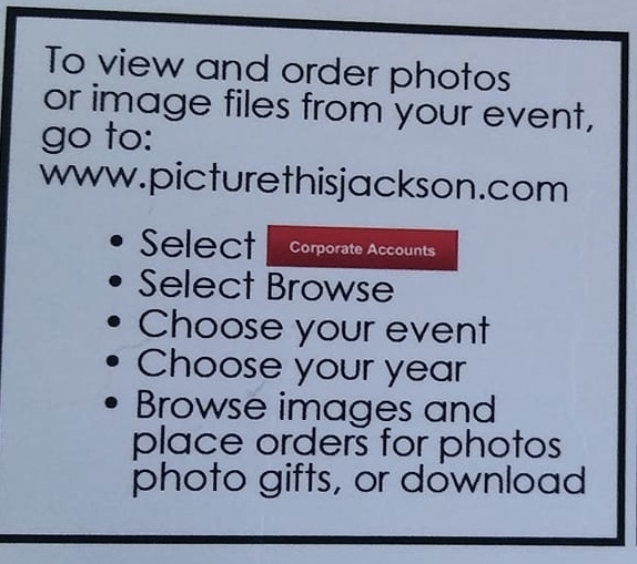 Directions for ordering photos