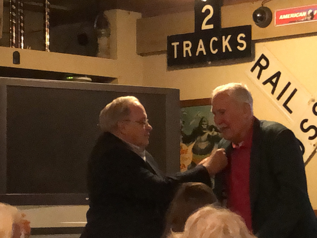 Bill Shoemaker receives the Legion of Honor!