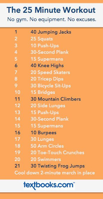 25 minute workout