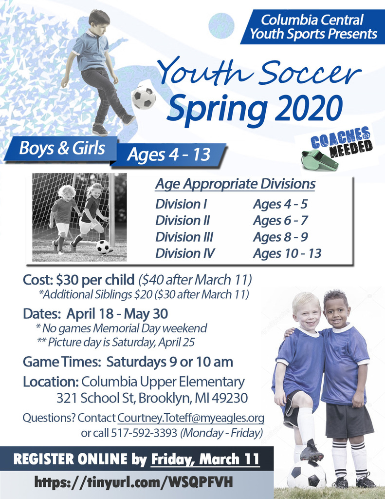 Youth Soccer Information